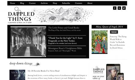 Dappled Things Literary magazine