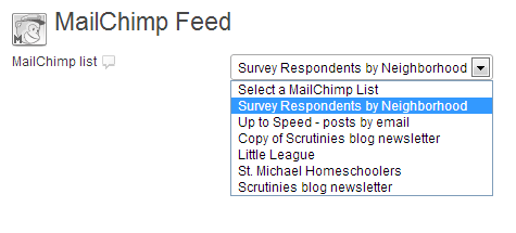Gravity Forms List Segmentation -MailChimp feed basic